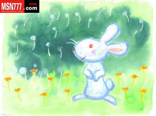 儿童彩铅画教师范画